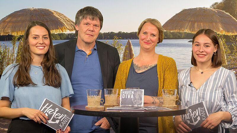 """Studierende blicken in TV-Magazin """"Havenkante"""" auf neue Wege"""