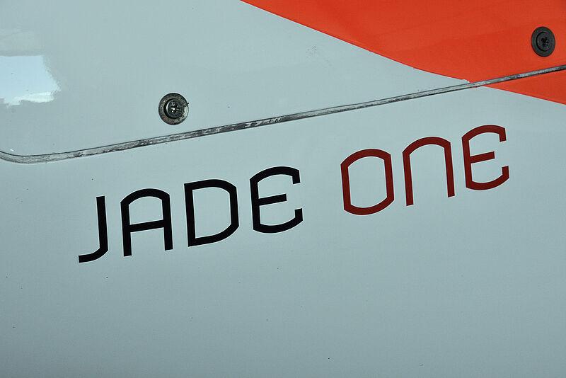Öffentliche Präsentation des Forschungsflugzeuges JADE ONE