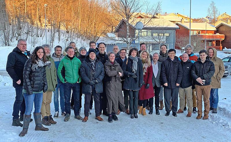 Nachhaltigkeit für 22 Millionen bestehende Häuser in der Nordseeregion