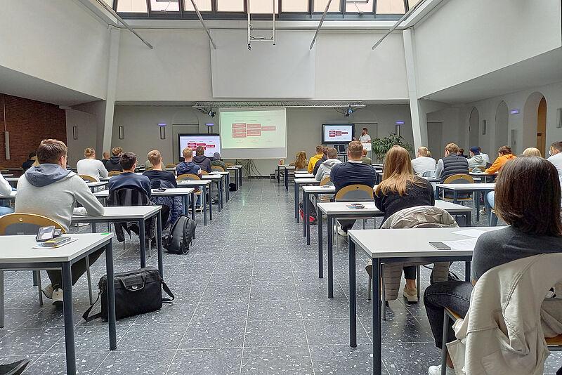 Studierende am Campus Oldenburg begrüßt