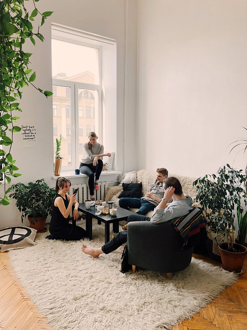 WG vs. eigene Wohnung – nicht nur auf den Geldbeutel kommt es an