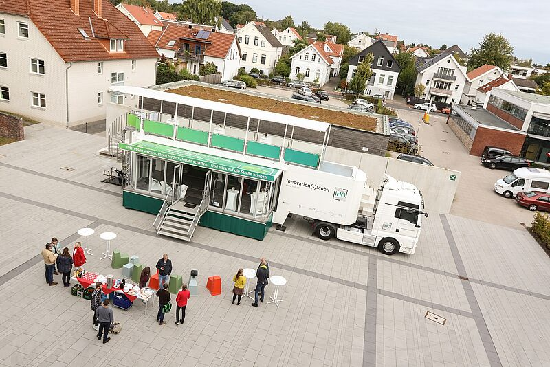 Open Science Truck am Oldenburger Campus