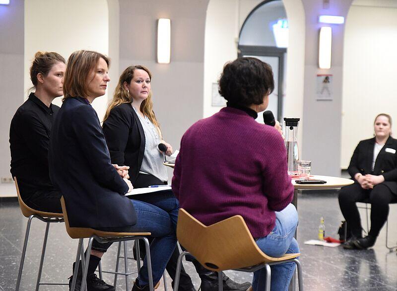 Vortrag zum Internationalen Frauentag an der Jade Hochschule