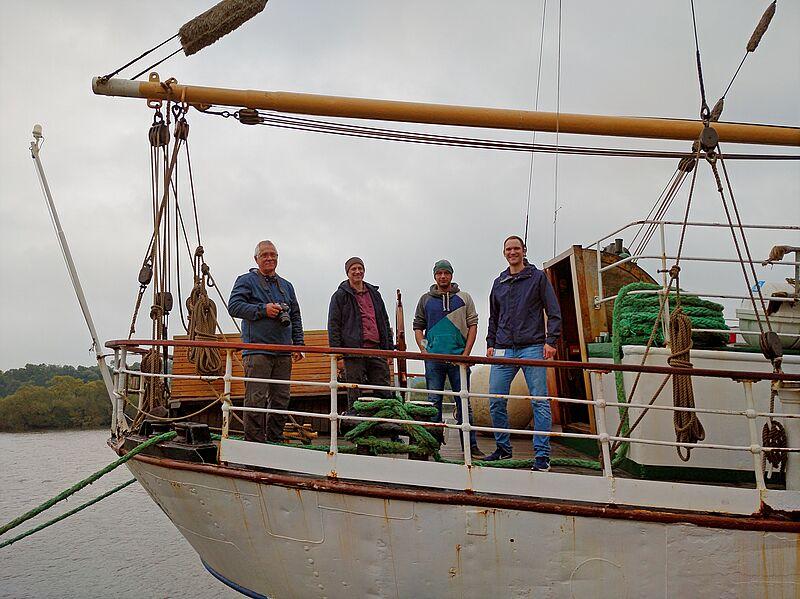Kooperative Schiffsführung mit Schiff und Leitsystem auf der Weser erprobt