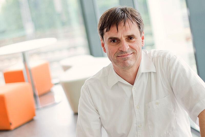 Angekommen: Prof. Dr. Markus Zeller im Gespräch