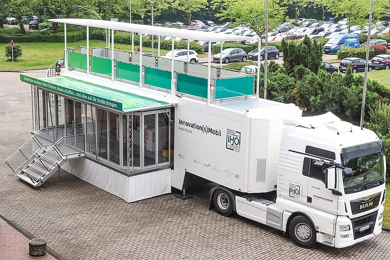 "Ein Science Truck für die Region - ""Innovation(s)Mobil"" startet Roadshow"