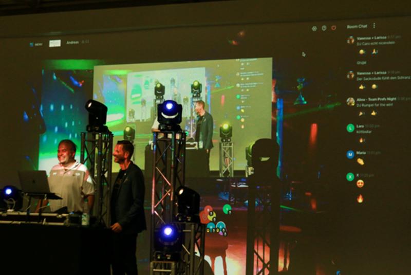 Hochschule organisiert Online-Party für Studierende