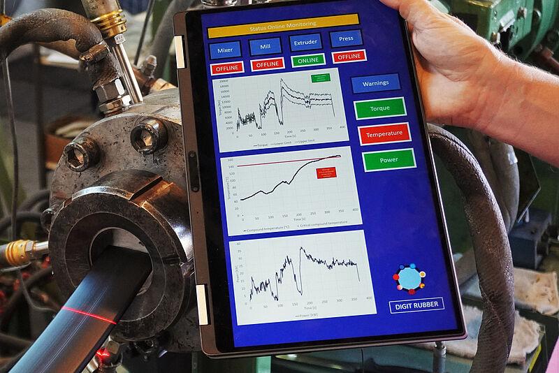 Neue Methoden der digitalen Verarbeitung von Kautschuk