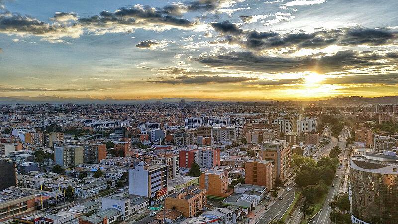 Besuch aus Kolumbien