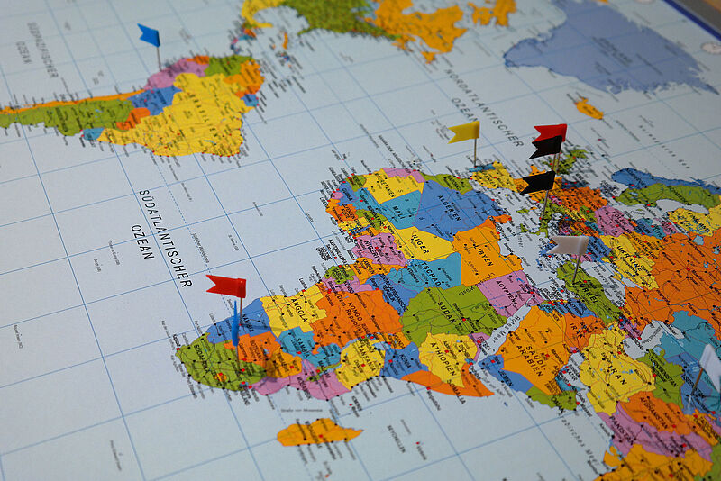 Auslandsaufenthalt - ohne Planung geht es nicht