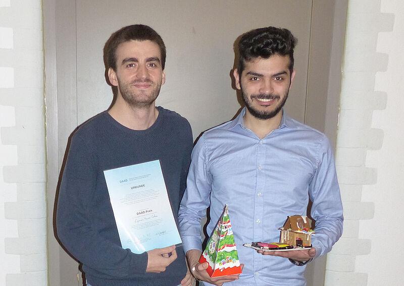 Jade Hochschule verleiht DAAD Preis an ausländischen Studierenden