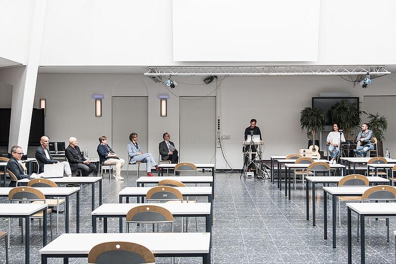 Graduierungsfeier am Fachbereich Architektur