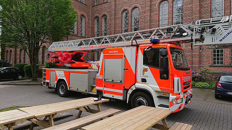 Brandschutz sicher gestellt