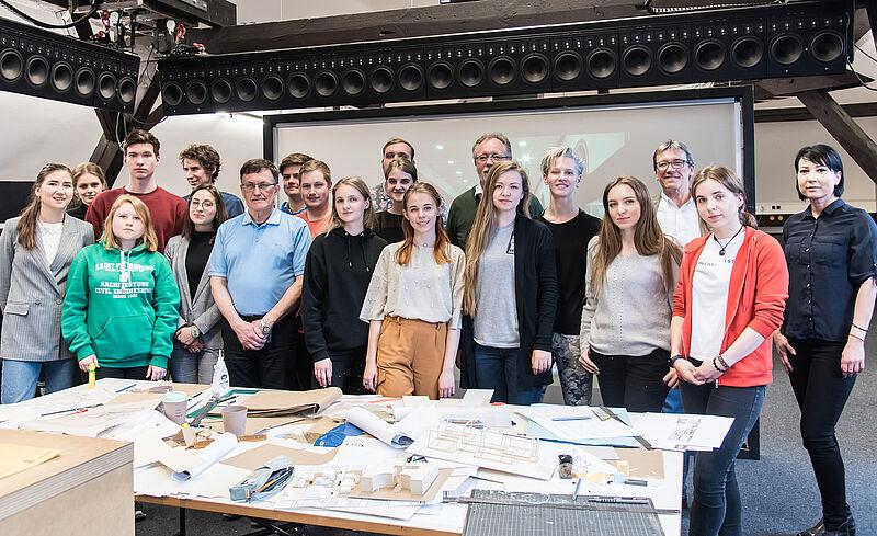 Studierende aus St. Petersburg finden Freunde an der Jade Hochschule