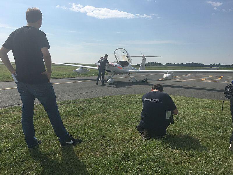 Über den Wolken: Forschungsflugzeug nimmt Betrieb auf