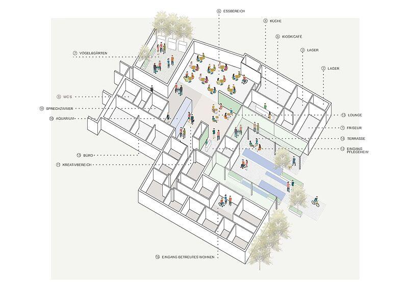 Caritas zeichnet Architektur-Studierende aus
