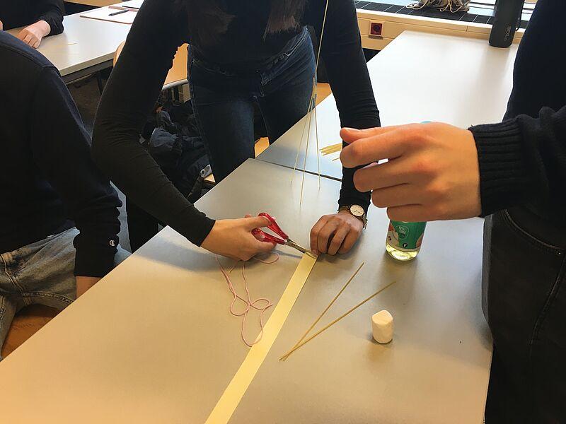 Mit Marshmallow Challenge die Vorlesung starten