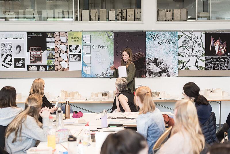 Über 100 Entwürfe von Architektur-Studierenden werden in Hamburg ausgestellt