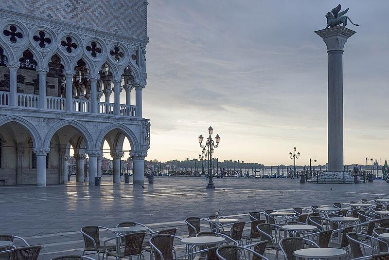 Ausstellung von Skizzen und Fotografien aus Venedig