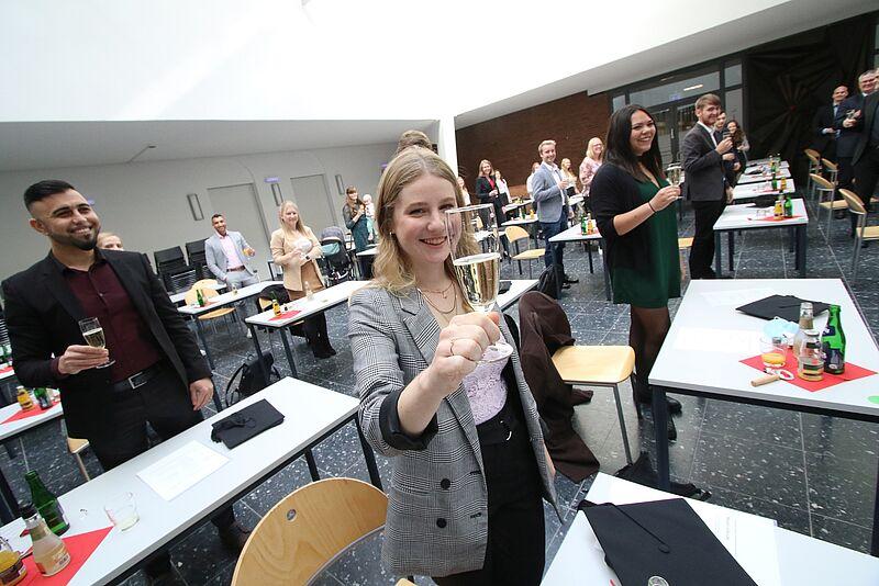 Feierliche Verabschiedung der Absolvent_innen am Campus Oldenburg