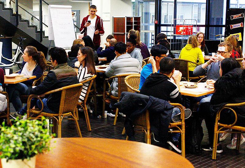 Das Sprachencafé – Neue internationale Veranstaltungsreihe