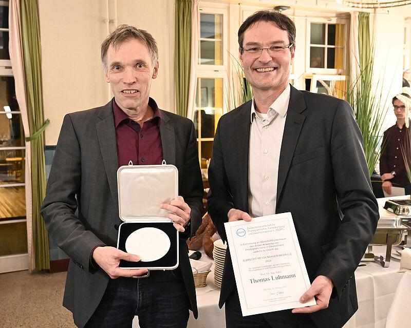 Prof. Dr. Thomas Luhmann mit der Albrecht-Meydenbauer-Medaille ausgezeichnet